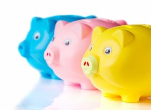Colourful Piggy Banks