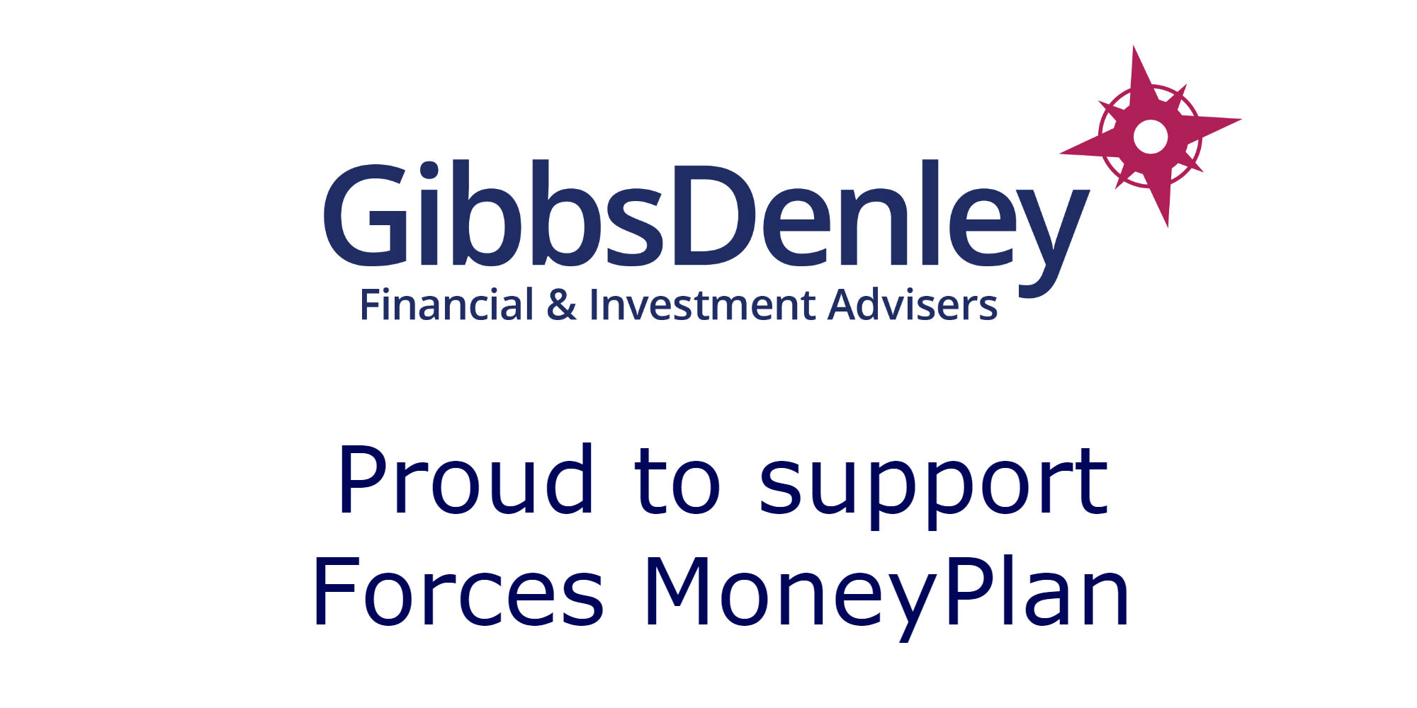 Proud to Support Forces MoneyPlan