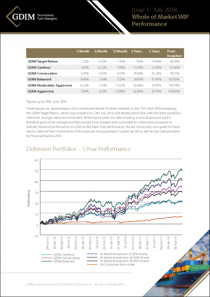 GDIM Investment Market REview & Outlook WOM models